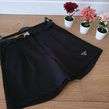 Load image into Gallery viewer, Prada Logo-Plaque Shorts