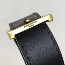 Load image into Gallery viewer, Yves Saint Laurent YSL Plaque Belt
