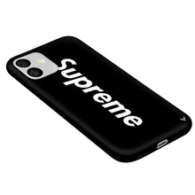 Load image into Gallery viewer, Louis Vuitton Supreme iPhone 11 Phone Case Black