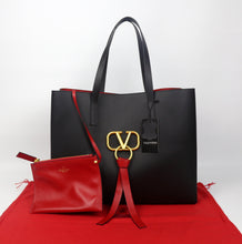 Load image into Gallery viewer, VALENTINO Large V-RING Shopper