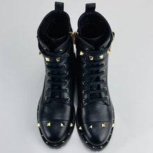Load image into Gallery viewer, Valentino Studded Combat Boots