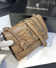 Load image into Gallery viewer, Ysl Sunset Croco Bag