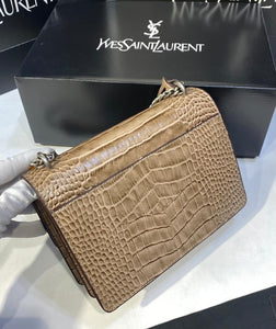 Ysl Sunset Croco Bag