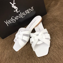 Load image into Gallery viewer, Yves Saint Laurent Tribute Flat Sandals