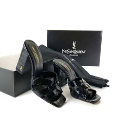 Load image into Gallery viewer, Yves Saint Laurent Tribute Heeled Sandals