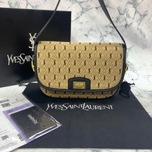 Load image into Gallery viewer, Yves Saint Laurent YSL Monogram All Over Medium Satchel Bag
