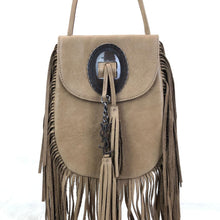 Load image into Gallery viewer, Yves Saint Laurent Anita Fringed Suede Bag