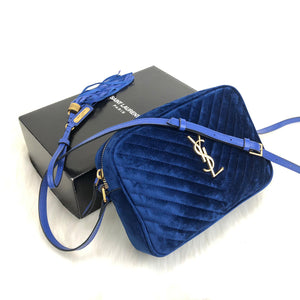 Yves Saint Laurent Lou Velvet Camera Bag ( YSL )
