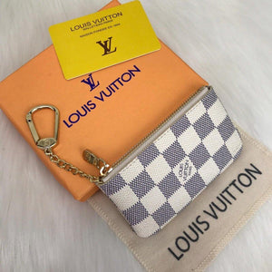 Louis Vuitton Azur Key Pouch & Coin Purse