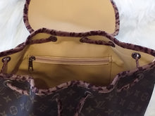 Load image into Gallery viewer, Louis Vuitton Handmade Leather Backpack