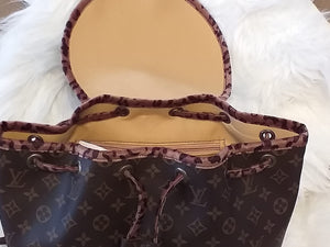 Louis Vuitton Handmade Leather Backpack