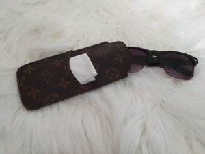 Louis Vuitton Canvas Monogram Glasses Case