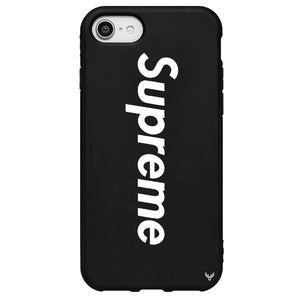 Louis Vuitton Supreme iPhone SE 2020 Phone Case Black
