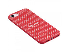 Load image into Gallery viewer, Louis Vuitton Supreme iPhone SE 2020 Phone Case Red
