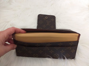 Louis Vuitton Cowhide Leather Handmade Wallet