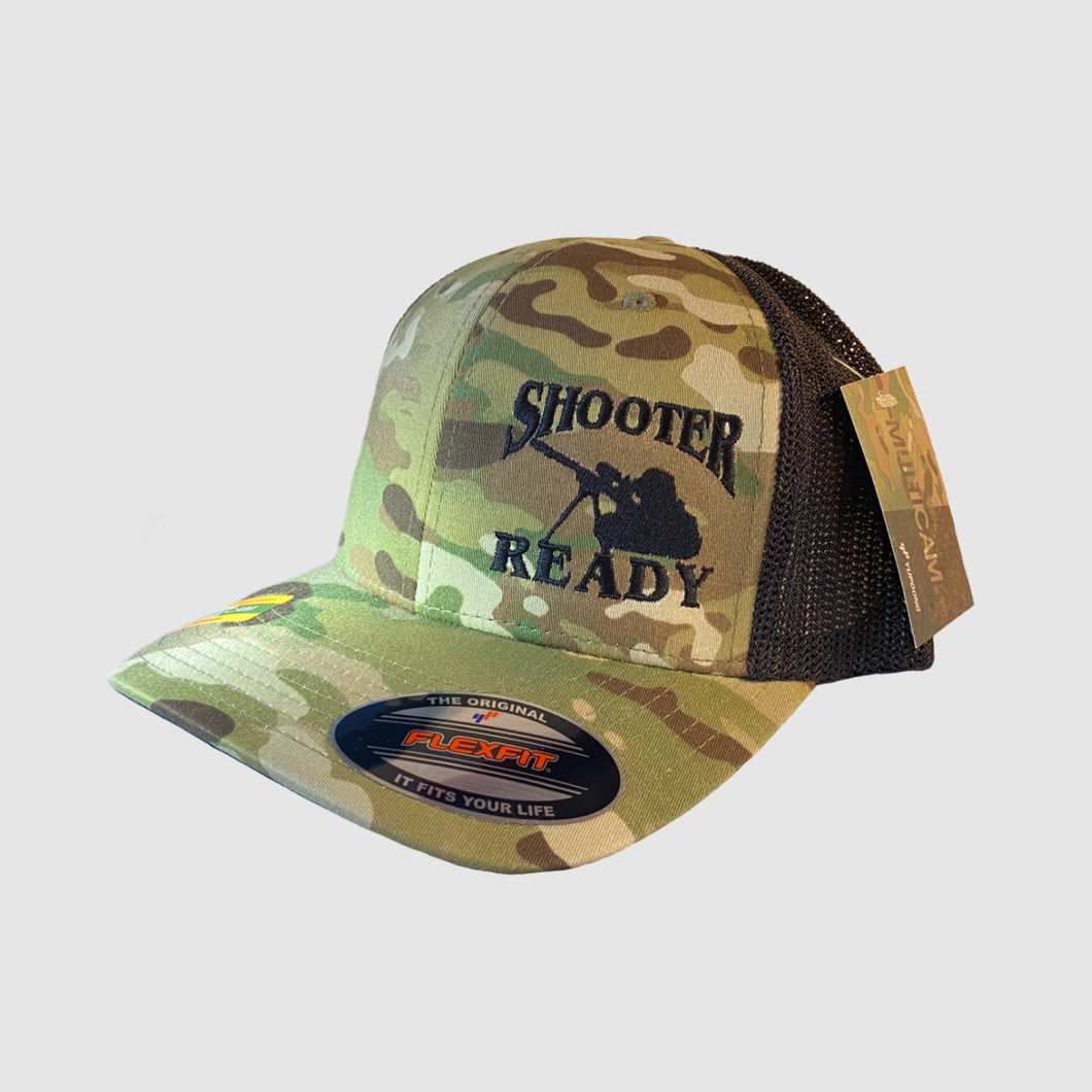 Shooter Ready Multicam Embroidered Mesh Flexfit