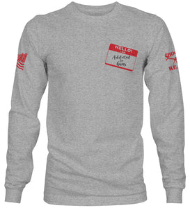 Ammoholics Anonymous Long Sleeve T-Shirt