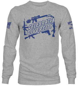 Celebrate Diversity Long Sleeve T-Shirt