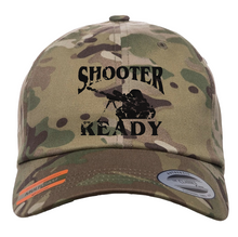 Load image into Gallery viewer, Multicam Low-Profile Shooter Ready Hat