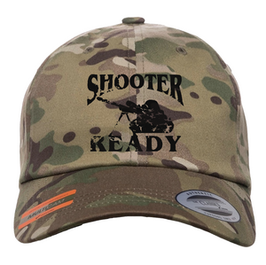 Multicam Low-Profile Shooter Ready Hat