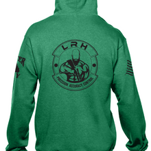 Load image into Gallery viewer, Long Range Hunting Green Hoodie