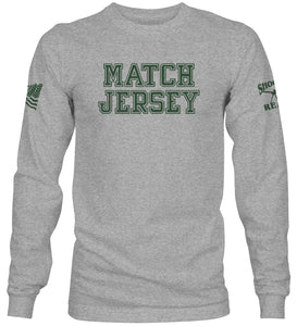 Match Jersey Long Sleeve T-Shirt