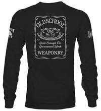 "Load image into Gallery viewer, ""Old School"" Long Sleeve T-Shirt"