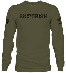 Sniperish Long Sleeve T-Shirt