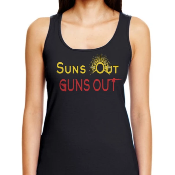 Women's Suns Out Racerback Tank