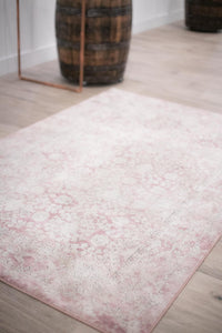 Chelsea Blush and Cream Area Rug