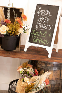White Chalkboard Signs