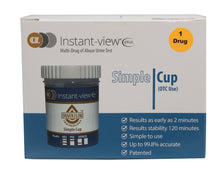 Load image into Gallery viewer, Instant-view® PLUS Simple Cup THC Home Test - Rapid One Step Test