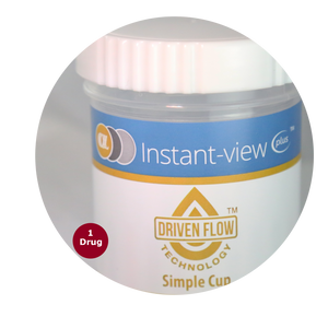 Instant-view® PLUS Simple Cup THC Home Test - Rapid One Step Test