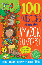 Load image into Gallery viewer, 100 Questions About the Amazon Rainforest