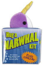 Load image into Gallery viewer, Hug a Narwhal Kit (Book + Plush)