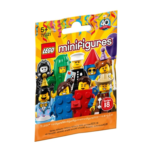 LEGO® 71021 Series 18 Party Collectible Minifigures (One Bag)