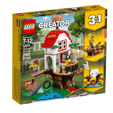 LEGO® Creator 31078 Treehouse Treasures (260 pieces)