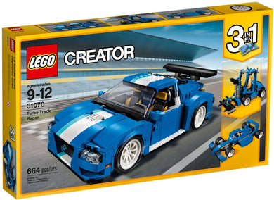 LEGO® Creator 31070 Turbo Track Racer (664 pieces)