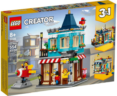 LEGO® Creator 31105 Townhouse Toy Store (554 pieces)