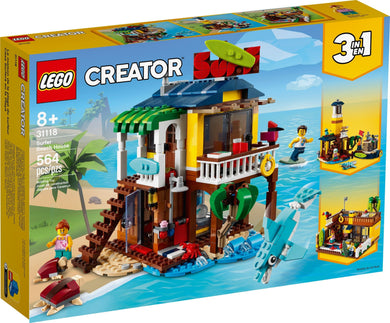 LEGO® Creator 31118 Surfer Beach House (564 pieces)