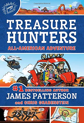 Treasure Hunters: All-American Adventure (Book 6)