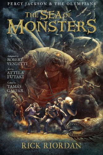 The Sea of Monsters: The Graphic Novel (Percy Jackson & the Olympians, Book 2)