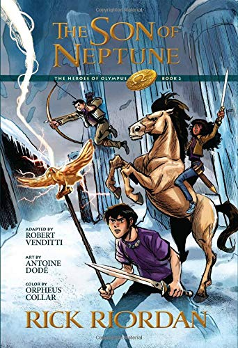 The Son of Neptune: The Graphic Novel (The Heroes of Olympus)