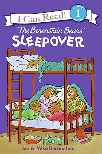 The Benenstain Bears' Sleepover (I Can Read Level 1)