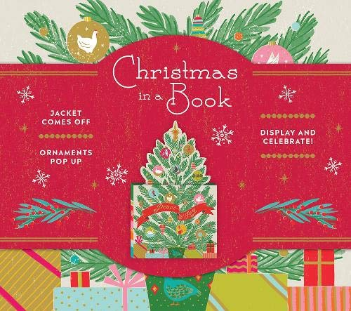 Christmas in a Book (UpLifting Editions): Jacket comes off. Candles pop up. Display and celebrate!