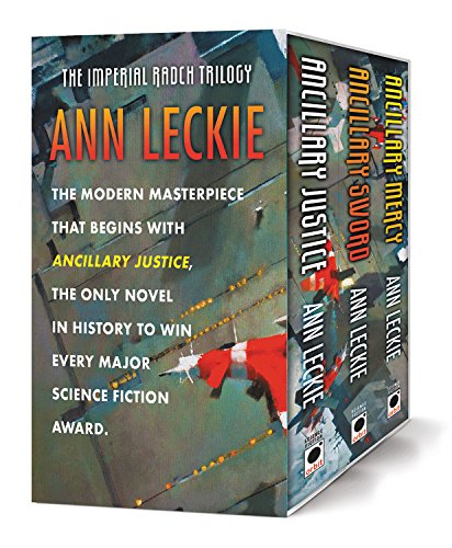 The Imperial Radch Trilogy Boxed Set (Ancillary Justice, Ancillary Sword, and Ancillary Mercy)