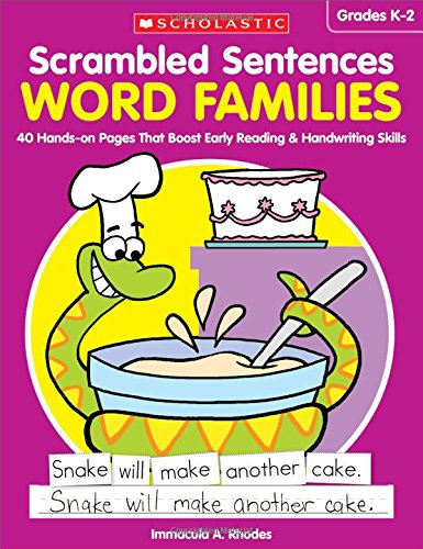 Scrambled Sentences: Word Families