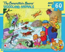 Load image into Gallery viewer, The Berenstain Bears - Woodland Animals (60 pieces)