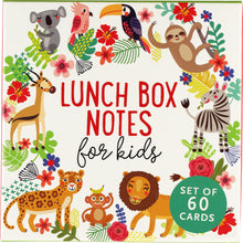 Load image into Gallery viewer, Lunch Box Notes for Kids (60 pack)