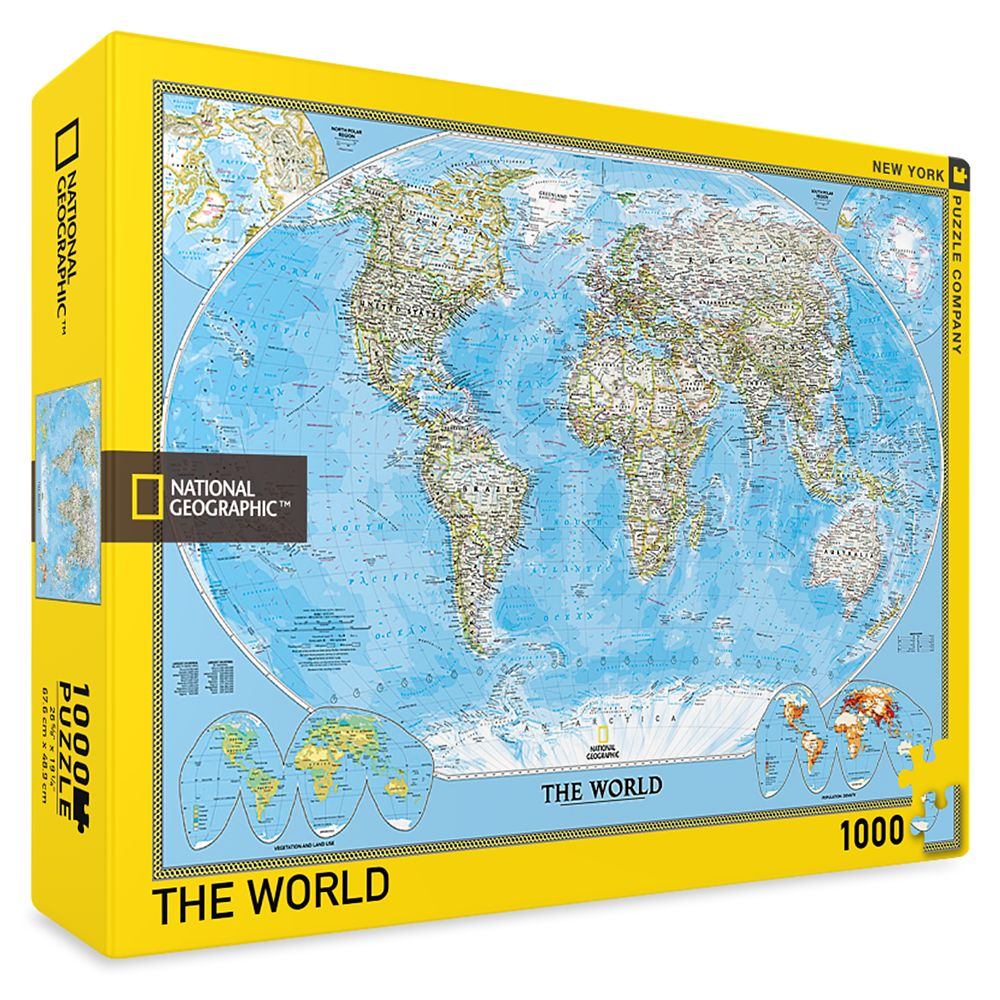 The World Puzzle (1000 pieces)